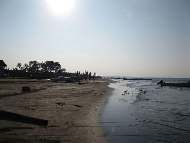 Playa de Anton Lizardo en Veracruz