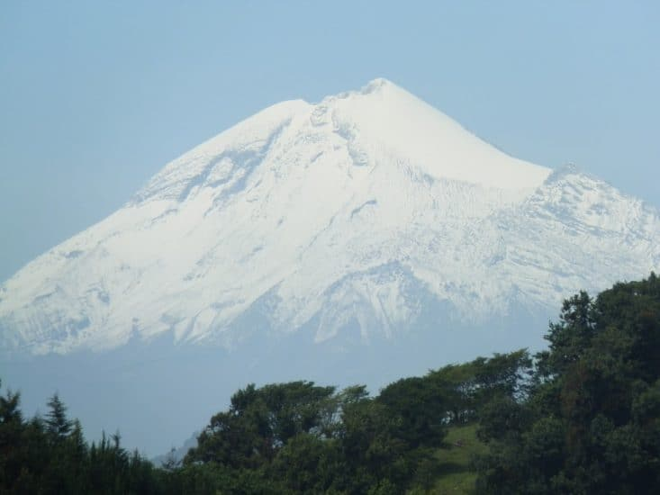 Pico de Orizaba en Veracruz