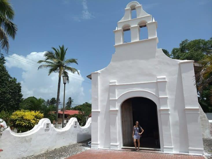 Ermita de Santiago del Rosario en La Antigua Veracruz
