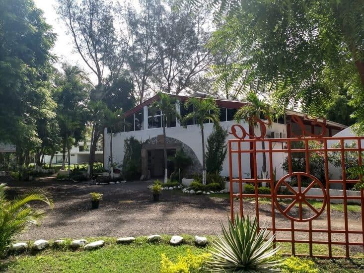 Granja de cocodrilos El Colibri de la Antigua en Veracruz