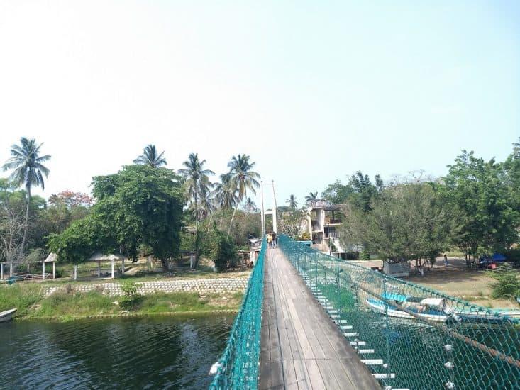 Puente Colgante de La Antigua Veracruz
