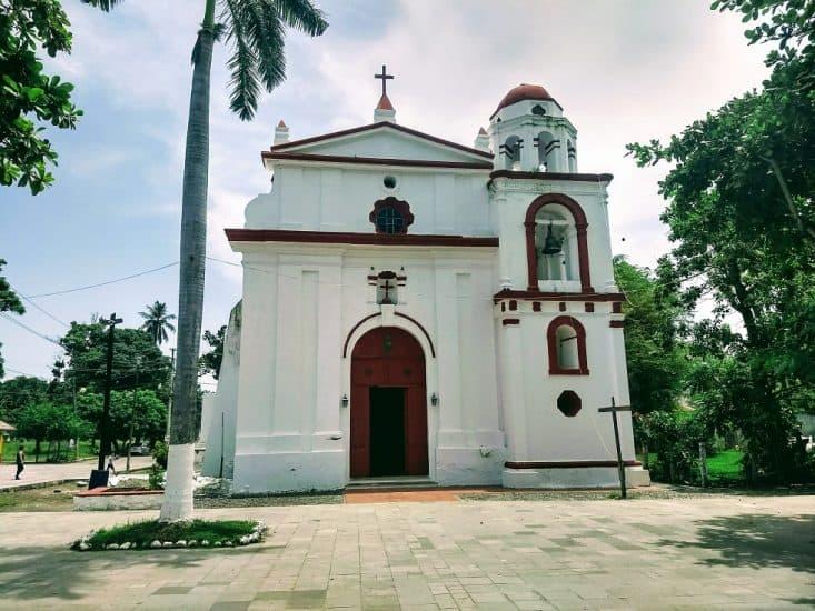 Santuario del Santo Cristo del Buen Viaje en La Antigua Veracruz