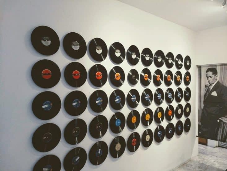 Album en vinil de la casa museo de agustin lara en Veracruz