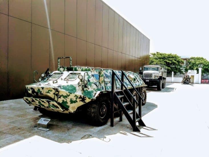BTR 60 en el museo naval de veracruz