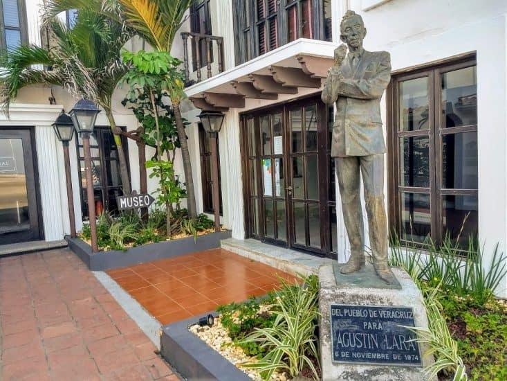 Casa museo de Agustin Lara en Veracruz puerto