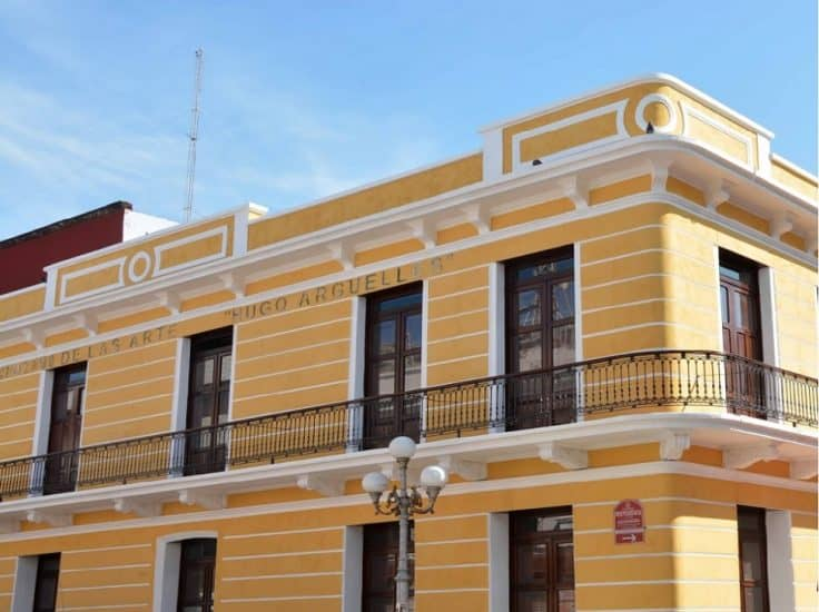 Centro Veracruzano de las artes Hugo Argüelles en Veracruz
