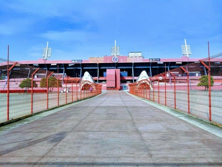 Estadio Luis Pirata Fuente en Veracruz