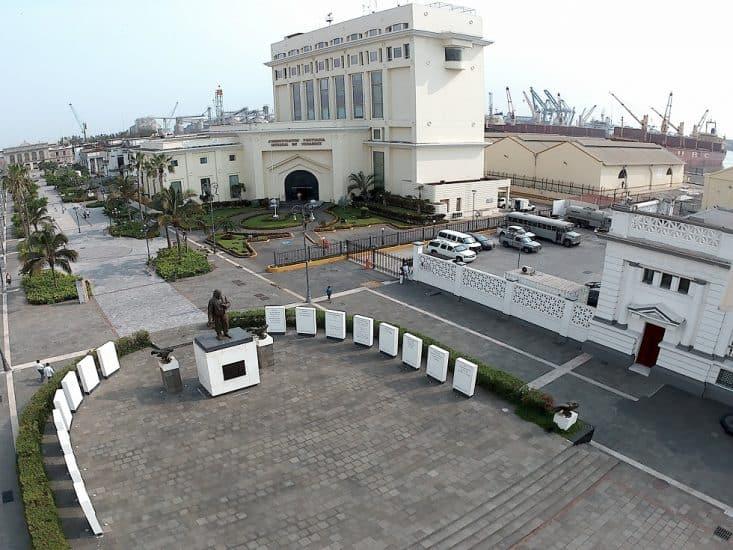 plaza de la republica en Veracruz