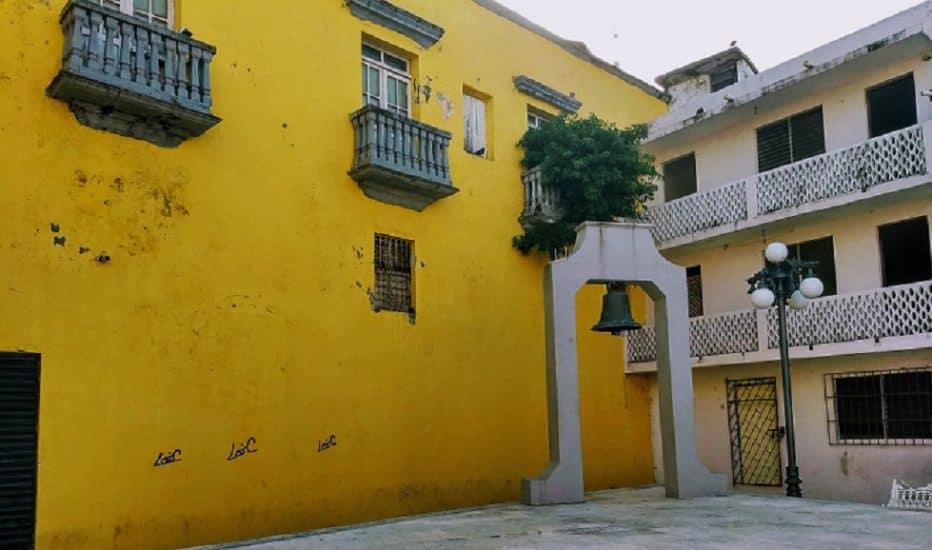 Plazuela de la campana en Veracruz