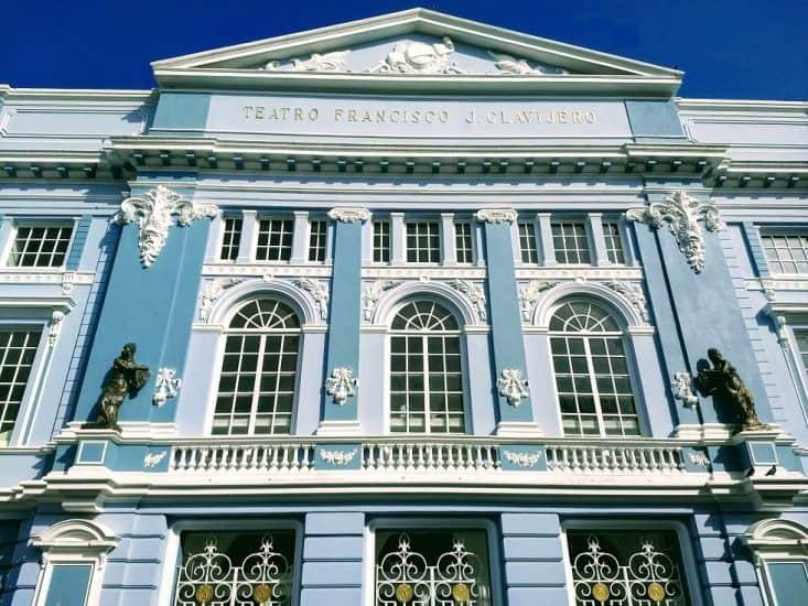 Teatro Francisco J. Clavijero en Veracruz
