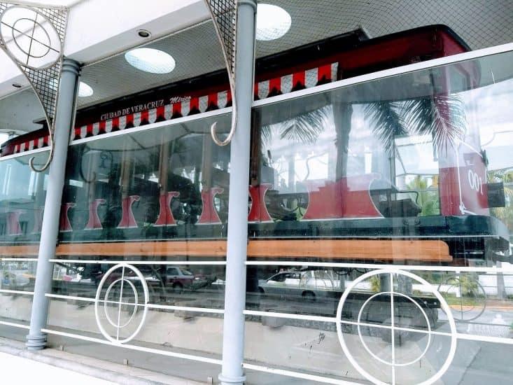 primeros tranvías de Veracruz