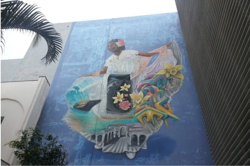 Vista por dentro del Centro Veracruzano de las Artes Hugo Argüelles en Veracruz