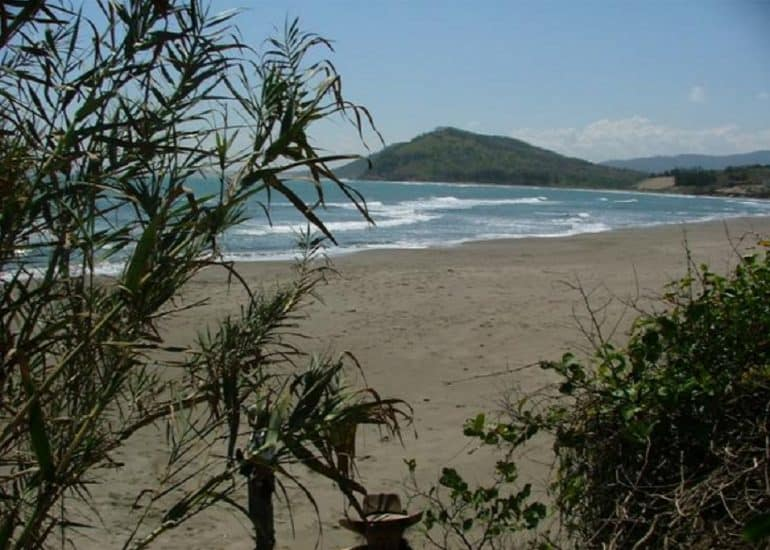 playa de La mancha en actopan