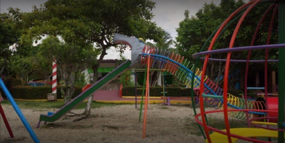 Parque 24 de Octubre en Nanchital