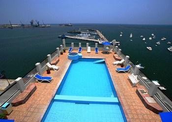 hotel mar y tierra en Veracruz