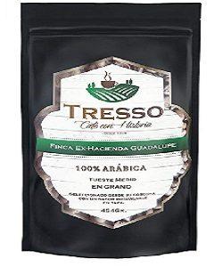 Cafe Tresso Ex hacienda de guadalupe en grano de 500 gr