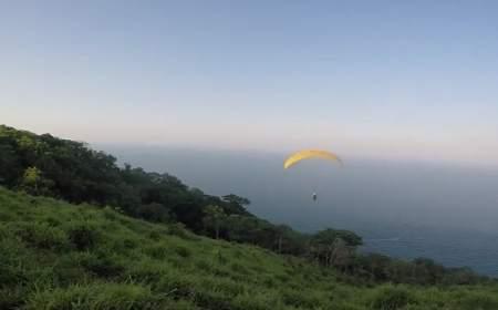 parapente en el Cerro del borrego