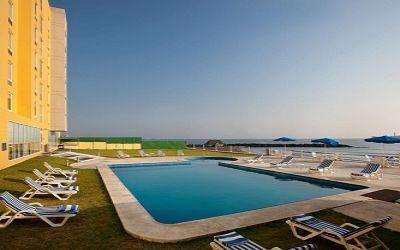 Hotel city express en boca del río