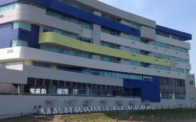 hotel punta azul en boca del río