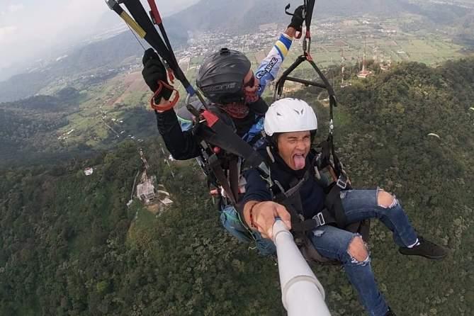 vuelo en parapente en Veracruz en la ciudad de Fortin