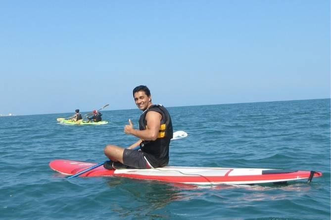 Paddle en Veracruz a isla de sacrificios