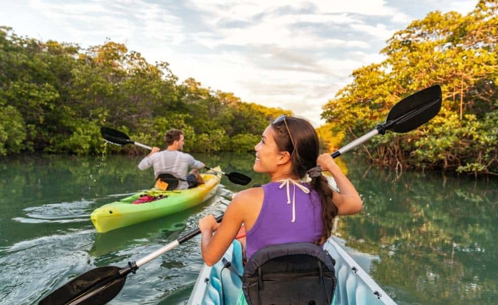 Kayak en Mandinga