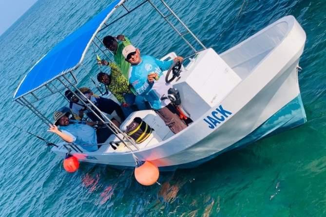 embarcación usada para realizar pesca en Veracruz