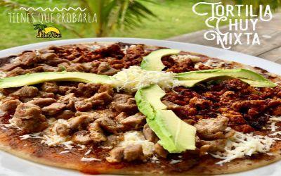 Tortilla Chuy en el restaurante Paradise