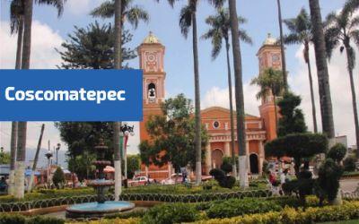 vista a la catedral de coscomatepec