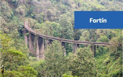 Antoguo ferrocarril el mexicano en Fortin