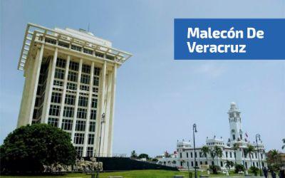 Torre de Pemex en el Malecón de Veracruz