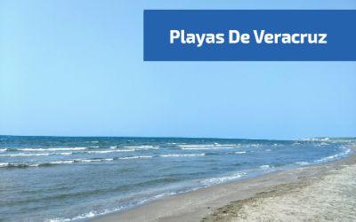 vista de una de las playas de veracruz