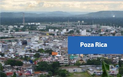 Vista de la ciudad de Poza Rica