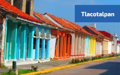 vista de la arquitectura de tlacotalpan
