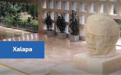 Vista del muso de antropología en Xalapa