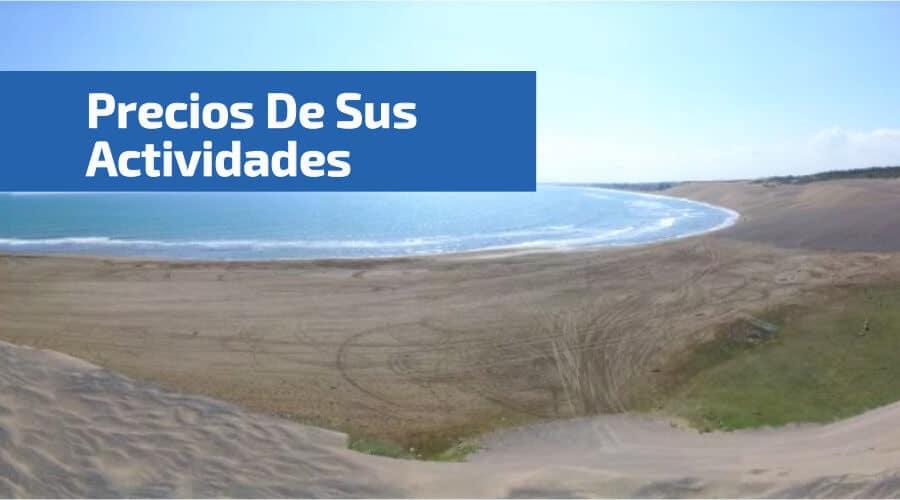 vistra desde las DunasDeChachalacas a la playa