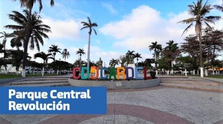 centro del parque revolucion en cardel
