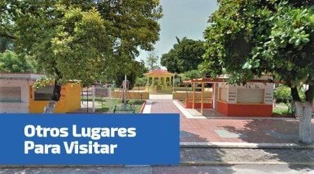 parque Cuauhtémoc en cempoala Veracruz