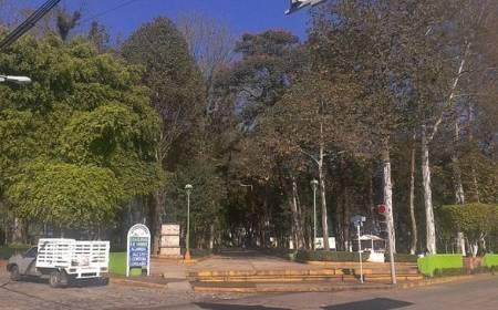 Vista de la Alameda Agustín Chicuellar