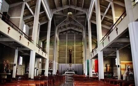 vista interior del Catedral de San Antonio de Padua
