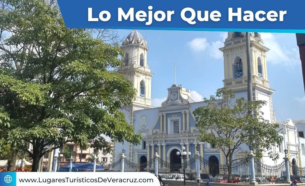 Vista del parque 21 de mayo en Córdoba Veracruz