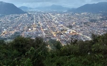 vista panoramica desde el Eco Parque Cerro del Borrego