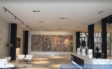 interior de la Galería Domínguez y Buis