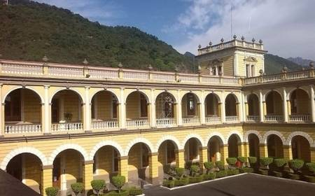 vista de la arquitectura del Palacio Municipal de Orizaba