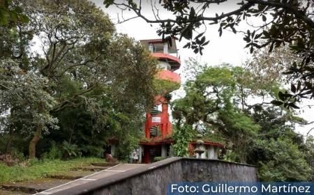 corredor dentro del Parque Ecológico Macuiltépetl
