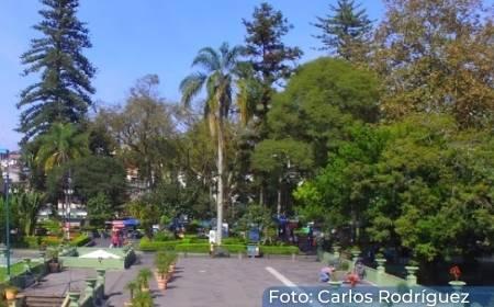 vista de una de las areas del Parque Juaréz