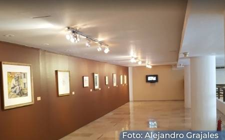 sala en el interior de la Pinacoteca Diego Rivera