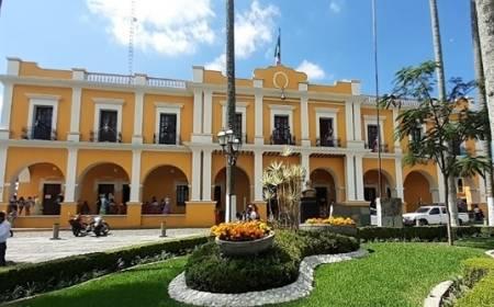vista del Parque Municipal Constitución