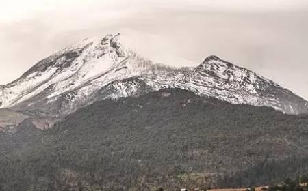 Vista del Pico de Orizaba por Coscomatepec