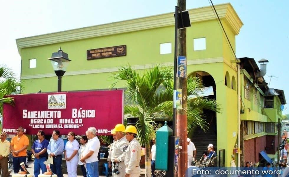 Mercado Hidalgo en Papantla